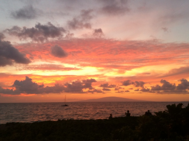 Saturday sunset!