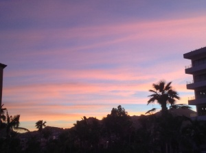 Last nights Cabo sunset!