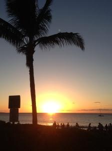 Sunset at Kam I
