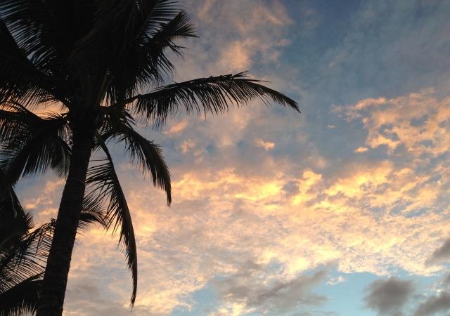 Beautiful sunset sky!