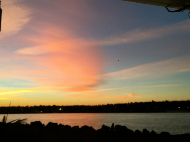 Nice sunrise!